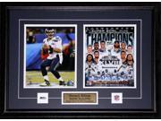 Russell Wilson Seattle Seahawks Superbowl XLVIII 2 photo frame 9SIADC26DU2261