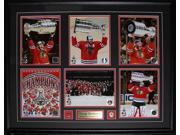2015 Chicago Blackhawks Stanley Cup Champions 6 Photo compilation frame 9SIADC26DU2055