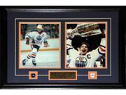 Wayne Gretzky Edmonton Oilers 2 Photo frame 9SIADC26DU2497