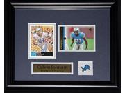 Calvin Johnson Detroit Lions 2 card Frame 9SIADC26DU1912