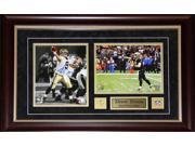 Drew Brees New Orlean Saints 2 photo signed frame 9SIADC26DU1842