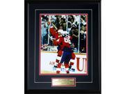 1987 Canada Cup Wayne Gretzky & Mario Lemieux 11x14 Frame 9SIADC26DU2362