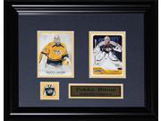 Pekka Rinne Nashville Predators 2 card frame 9SIADC26DU2784