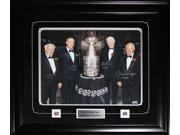 Henri Richard Guy Lafleur Jean Beliveau & Yvan Cournoyer Stanley Cup signed 16x20 frame 9SIADC26DU4123