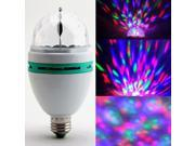3W E27 RGB Crystal Ball Rotating LED Stage Light Bulb for Club DJ Disco Party 9SIADD85GS3950