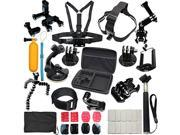 37in1 Head Chest Mount Monopod Accessories Kit For GoPro Hero 1 2 3 4 5 Camera 9SIADDP5VM9180