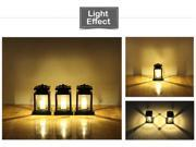 Solar Emulation Candle Lamp Yellow Light Outdoor Walls European Garden Lamps 9SIADDY6N69326