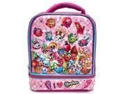 Shopkins Girls Dual Compartment Lunch Bag 9SIADEF6KE8865