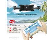 Eachine E55 Mini WiFi FPV Foldable Pocket Drone w/ High Hold Mode RC Quadcopter BNF Version without Transmitter
