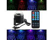 SOLMORE Fashion Rotating Disco KTV Bar Party Stage LED RGB Crystal Ball Laser Light 9SIADF46013190