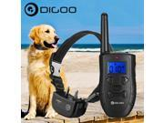 Digoo DG-PPT1 Rechargeable Waterproof LCD Electric Remote Shock Bark Collar Dog Trainer Training 9SIADF467V3239
