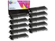 SD Toners 10PK TN360 Compatible Toner Cartridge for Brother DCP-7040 HL-2150 MFC-7340