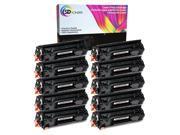 SD Toners 10PK CF279A (79A) FULL Toner Print Cartridge Compatible for HP LaserJet Pro M12 M12w M26 M26nw Monochrome