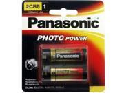 Panasonic 2CR-5MPA/1B 1-pack Photo Lithium Cylinder Battery