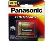 Panasonic CR-P2PA/1B 1-pack Photo Lithium Battery