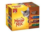 Meow Mix Classic Pate Wet Cat Food Variety Pack, 2.75-Ounce Cups (Pack of 24) 9SIADHM6YC7241