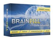 "BRAIN PILL Focus Supplement BOOST Memory Cognizin Synapse factor BrainPillâ""¢"
