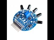5 Way Flame Sensor Module Digital Analog Signal Dual Output Fire Detection Sensor Module for Arduino 9SIADJN5JK0183