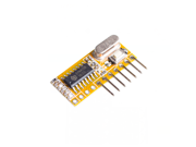 RXC6 433Mhz Superheterodyne Wireless Receiver PT2262 Code Steady for Arduino/AVR Module With Learning Code Mode
