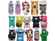 3D Cute Cartoon Soft Silicone Mouse Cat Stitch Batman Kitty Winnie Bear Phone Case Back Cover Skin For Samsung Galaxy S8 S8 Plus 9SIADJT67D7155