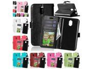 For Lenovo Vibe P1m Crazy Horse PU Leather Case for Lenovo P1mc50 P1ma40 Dual Sim Flip Wallet Cover Phone Case with Card Holder 9SIADJT67D6560