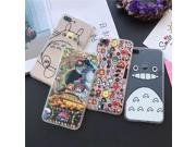 Hot Japan Cartoon Totoro Phone Cases Fundas Coque for iPhone 6S 6 7 Plus SE 5 5S Caso Shell Animals King Lion Hard Cover 9SIADJT67T6167