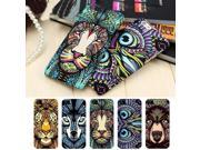 Brand Animals Lion Wolf Owl Pattern Hard Back Phone Case For iPhone 7 6 6s Plus se 5s Glow In The Dark Luminous Forest King Case 9SIADJT67T6122