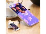 For iPhone 7 7 Plus Phone Case Blue Ray Glitter Soft TPU Back Cover For Apple iPhone 6 6S Plus 5 5S SE Fashion Print Accessories 9SIADJT67T5777