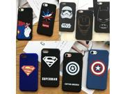 Fashion Batman iRon Man Super Man Hero Captain America Superman Spiderman Shield Case for Iphone 5 SE 6 6s 7 plus phone case 9SIADJT67T5455