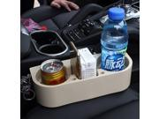 Car Auto Cup Holder Portable 2016  Multifunction Vehicle Seat Cup Cell Phone Drinks Holder Glove Box Interior Organizer (white) 9SIAC5C6E76002