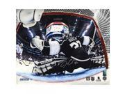 Jonathan Quick Signed 2014 Stanley Cup Net Save Metallic 16x20 Photo 9SIADKS5KR9370