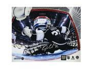 Jonathan Quick Signed 2014 Stanley Cup Net Save 8x10 Photo 9SIADKS5KR8773