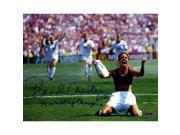 Brandi Chastain Signed PK Celebration 8x10 Photo Horizontal w 99 World Cup Champions insc. 9SIADKS5KK9922