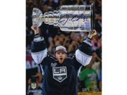 Jonathan Quick Signed 2014 Raising Stanley Cup 8x10 Photo 9SIADKS5KR9087