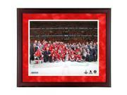 Chicago Blackhawks Stanley Cup Team Celebration 16x20 Frame Collage 9SIADKS5KM1182