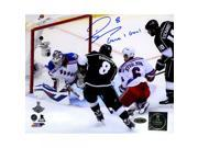 Drew Doughty Signed Los Angeles Kings 2014 Stanley Cup Scoring Goal 8x10 Photo w Game 1 GoalInsc. 9SIADKS5KS4563