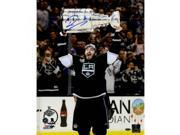 Drew Doughty Signed Los Angeles Kings 2014 Stanley Cup Overhead 16x20 Photo 9SIADKS5KS4456