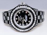 Breitling Aeromarine Black Pvd Colt Ocean Diamond Watch