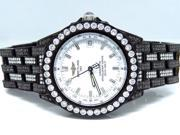 Breitling Black PVD Unisex Chronometre Diamond Watch (15.5 Ct)