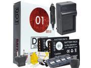 2x DOT-01 Brand Panasonic DMC-FX550 Batteries and Charger for Panasonic DMC-FX550 Camera and Panasonic FX550 Accessory Bundle for Panasonic BCG10 DMW-BCG10