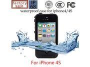 Top Quality Waterproof Hard Case Cover For iPhone 4G 4S 5G 5S SE Phone Back Cover Capa Funda Coque