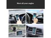 Black Universal Car Magnetic Phone Stand Suction Cup Air Vent Clip Holder Mount for Smartphone 9SIADT868J0258