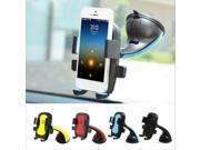 Car Phone Holder GPS Suction Cup Auto Dashboard Windshield Mobile Cell Mount Stand(Red) 9SIADT868H9532
