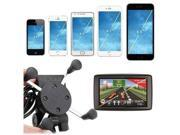 X-Grip RAM Motorcycle Bike Car Mount Cellphone Holder USB Charger For Phone 9SIADT868J1275