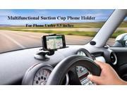 Universal 360  Rotation Suction Cup Mount Holder Car Table Phone Bracket for  5.5  Cellphone (Size: 1, Color: Black) 9SIADT868J0147
