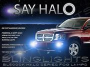 2004-2009 Dodge Durango Angel Eye Fog Lamps Driving Lights