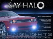 08-14 Dodge Challenger Halo Fog Lamps Driving Lights Kit Angel Eye