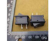 Boat type switch 117S rocker switch 15 * 21MM brass feet 250VAC / 6A / 2feet Rocker Switch Power Switch Black 30610 9SIADTU5WG3940