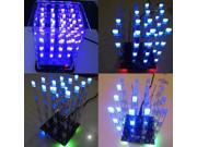 1Pcs New 4*4*4 3D LED LightSquared White LED Blue Ray LED Cube DIY Kit 9SIADU75TV7076