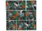B Dazzle Forest Animals Scramble Squares 9 Piece Puzzle 9SIAD247AY4873